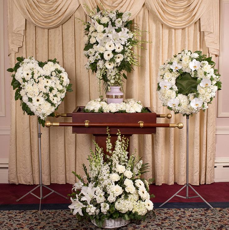 Cremation Urn Flowers Funeral Arrangements Des Plaines Park Ridge Il