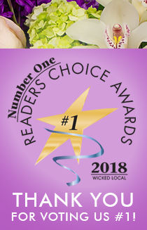 Thank you for voting Curran's Flowers #1 - Wicked Local Readers Choice!